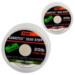 Fox Plecionka Camotex Semi Stiff Dark Camo 15lb 20m Coated