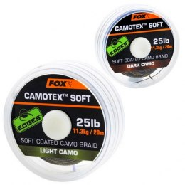 Fox Plecionka Camotex Soft Dark Camo 15lb 20m Coated