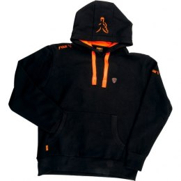 Fox Black Orange Bluza Hoodie M Lightweight