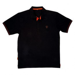 Fox Black Orange Koszulka Polo Shirt XL
