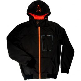 Fox Black Orange Kurtka Softshell Hoodie XL
