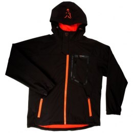 Fox Black Orange Kurtka Softshell Jacket M