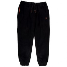 Fox Black Orange Spodnie Heavy Lined Joggers L