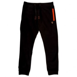 Fox Black Orange Spodnie Light Weight Joggers M