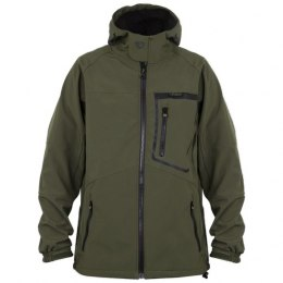 Fox Green Black Kurtka Softshell Jacket L