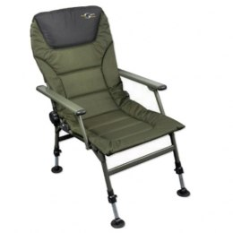 Carp Spirit Krzesło Level Chair Padded Arms Fotel