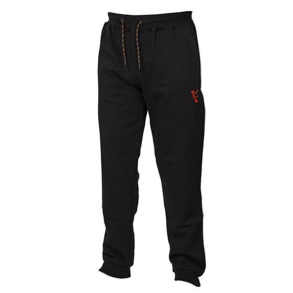 Fox Coll Black Orange Joggers L Spodnie