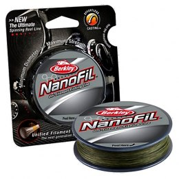 Berkley NanoFil Low Vis Green 0,10mm 125m