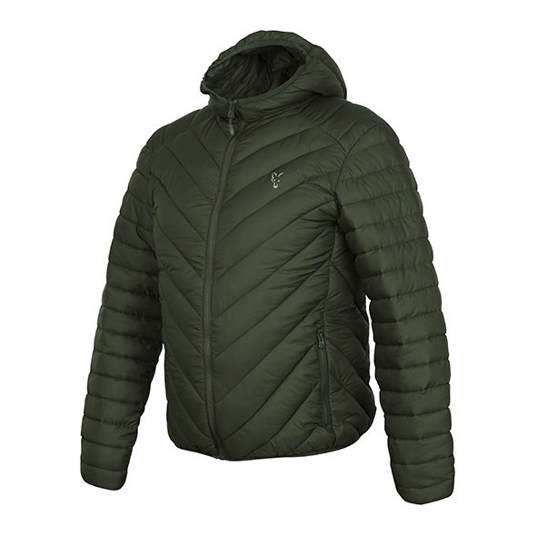 Fox Kurtka Collection Quilted M Green Silver